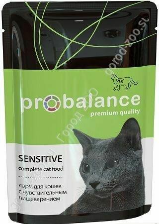 Пробаланс ProBalance влаж.д/кошек 85г Sensitive чувств.пищеварение