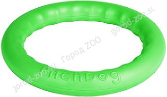 PitchDog 20 - игровое кольцо для аппортировки d 20 зеленое