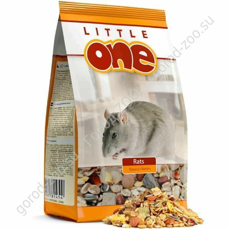 Литл оне LITTLE ONE 400г д/крыс