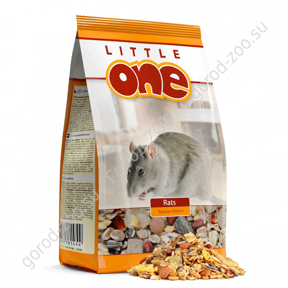 Литл оне LITTLE ONE 900г д/крыс