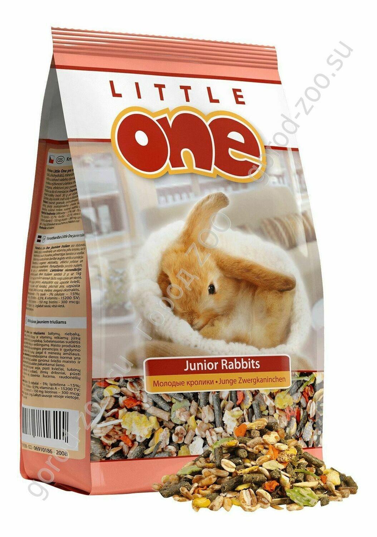 Литл оне LITTLE ONE 900г д/молодых кроликов