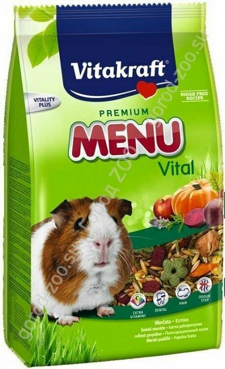 Витакрафт Vitakraft д/морских свинок корм MENU VITAL 400 гр.