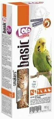 Лоло петс LoLo Pets Smakers д/волнистых попугаев 90г медовый