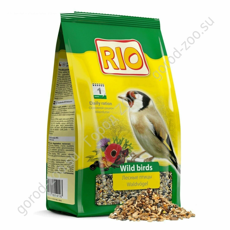 Рио 500г д/лесных певчих птиц(щеглов,чижей и т. п.)