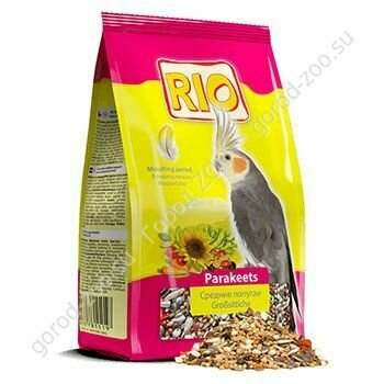 Рио 500г д/средних попугаев в период линьки