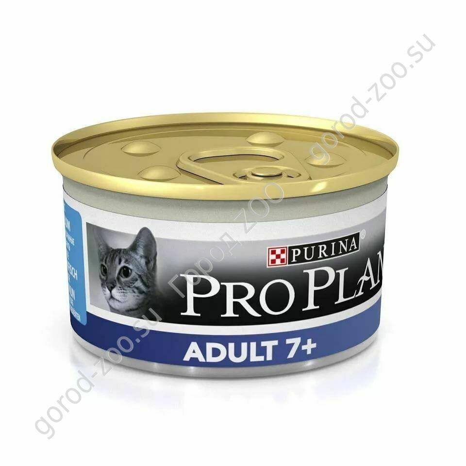 ПроПлан 85г конс.д/кош.Vital Age 7+ тунец мусс