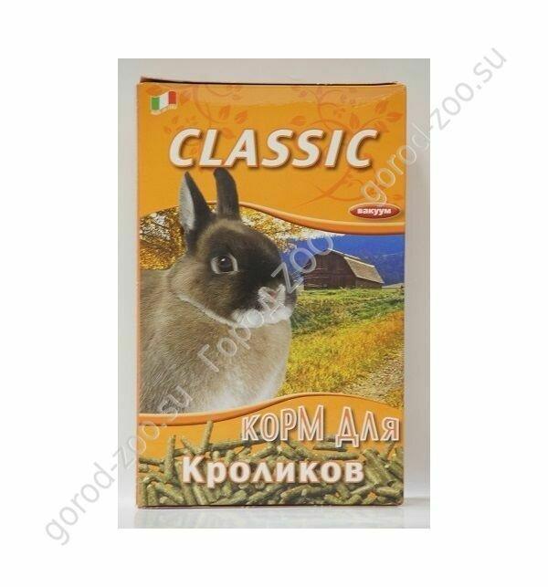 Фиори FIORY корм для кроликов Classic гранулированный 680 г