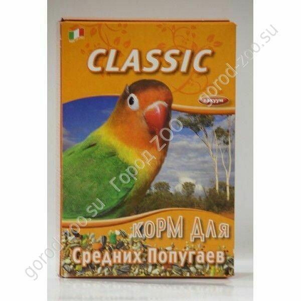 Фиори FIORY корм для средних попугаев Classic 400 г