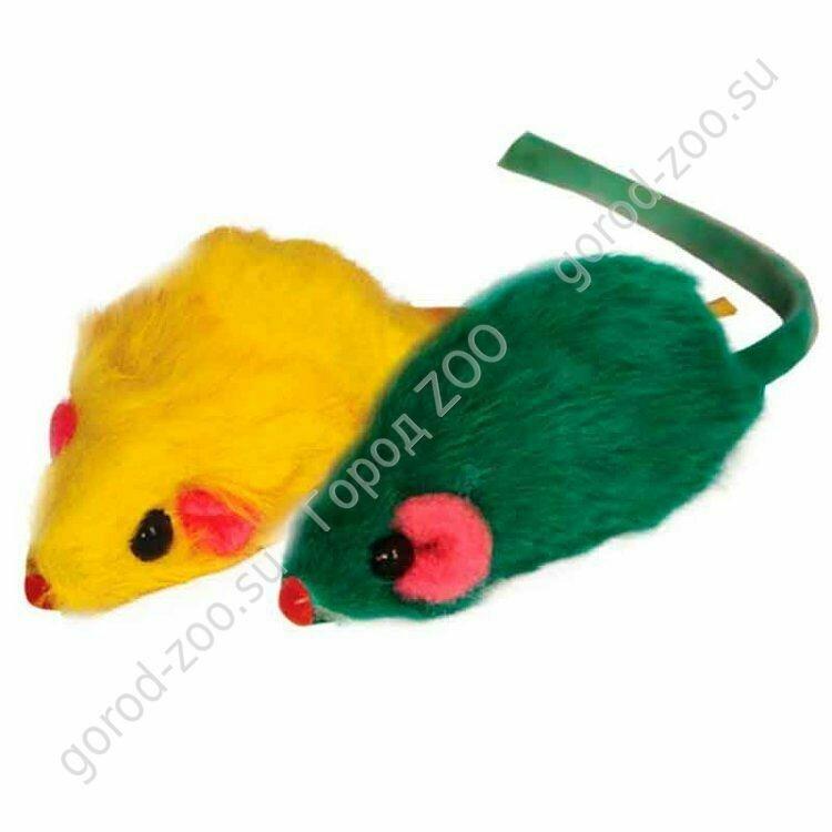"""Мышь 2"""" цветная"""