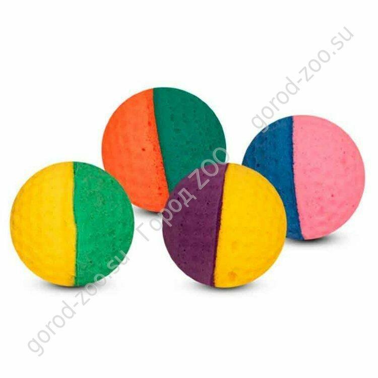 Мяч д/гольфа двухцветный