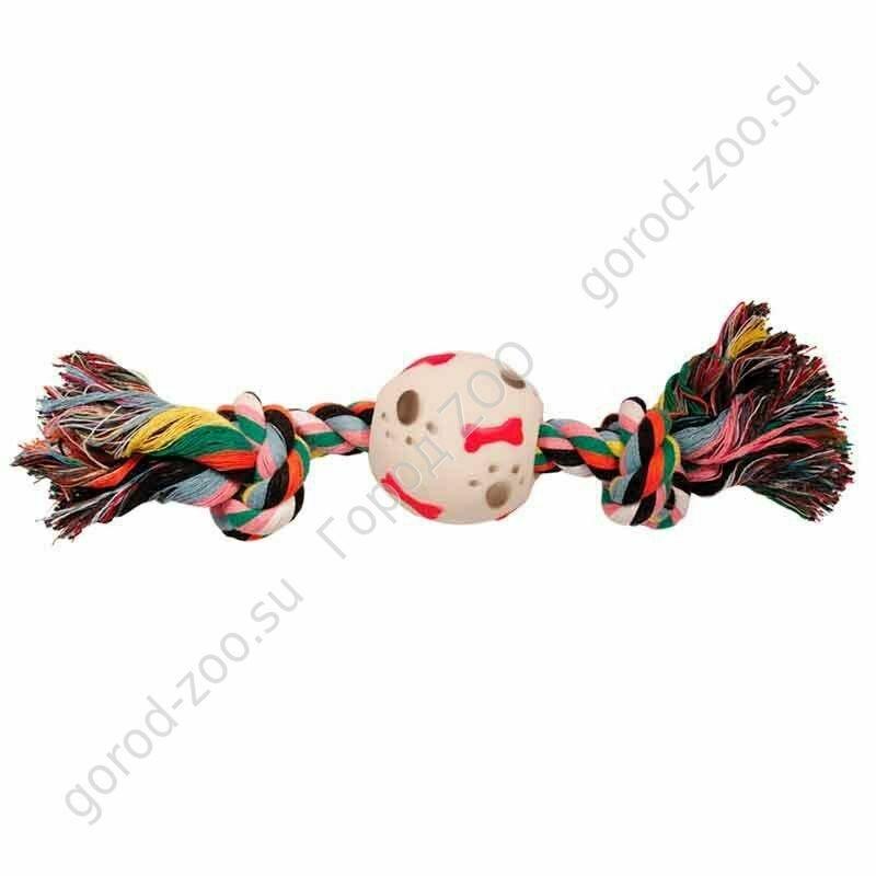 """Грейфер веревка  цв.2уз.1мяч  XJ0073 14"""""""