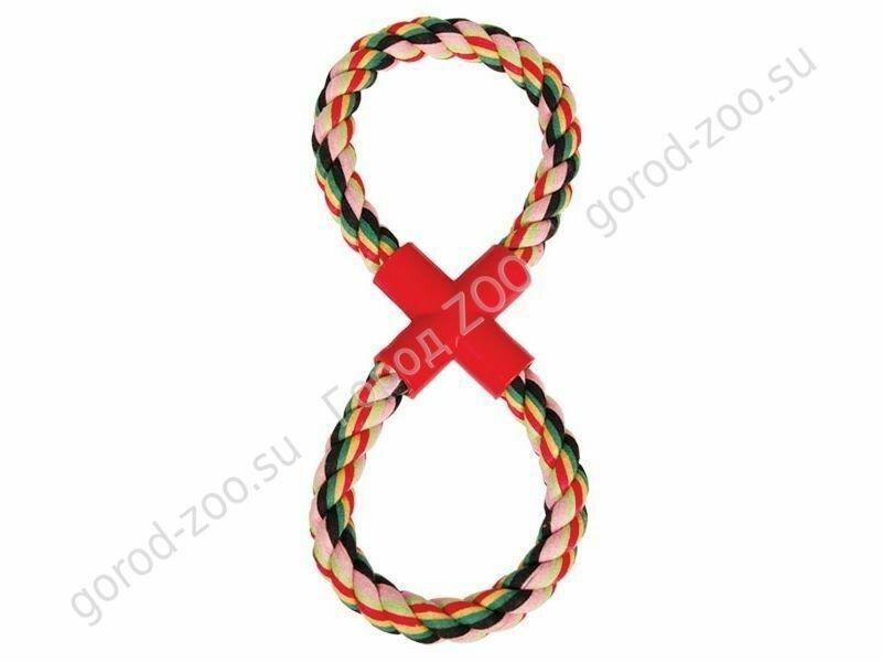 "Грейфер веревка  цветная восьмерка  XJ0066 11"""