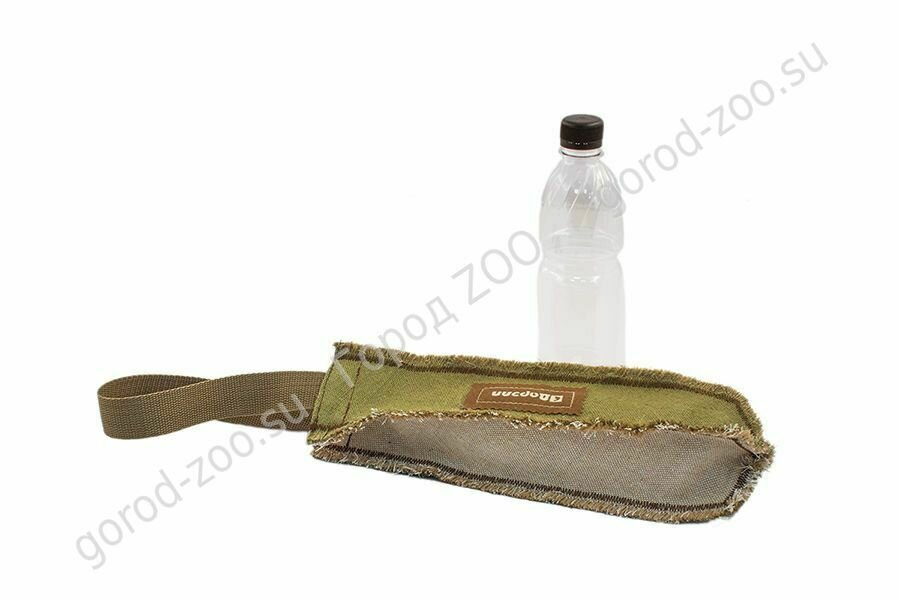 Тягалка-аппорт Бутыль брез. 30 см с ручкой
