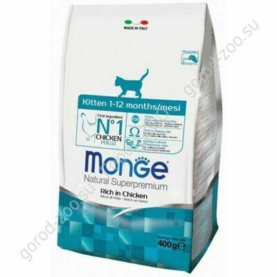 Монж Monge Cat корм для котят 400гр