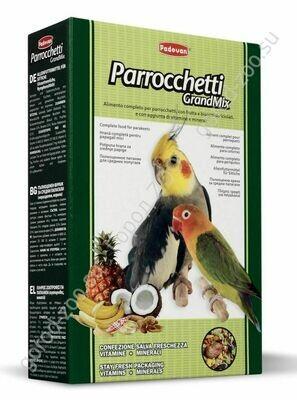 Падован д/сред.попугаев основной 850г грандмикс паррочети