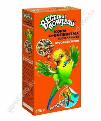 Веселый попугай 450г д/волн. попуг