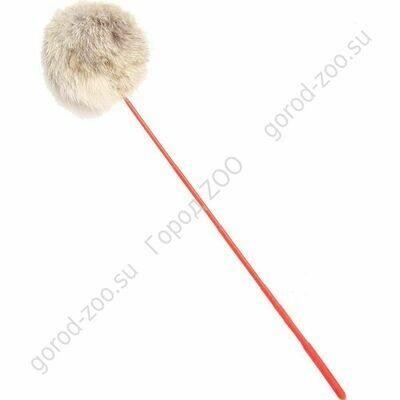 Дразнилка  АТ-3504 меховой шарик 45см