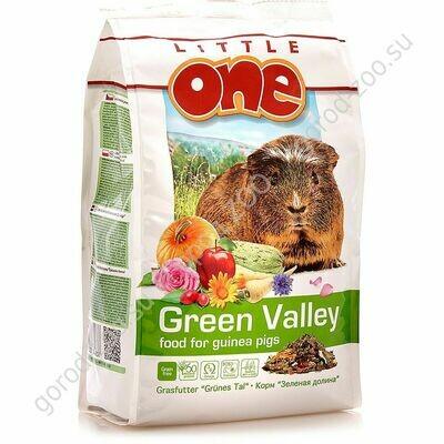 Литл оне LITTLE ONE Зеленая долина.Корм д/морск.свинок из разнотравья
