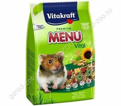 Витакрафт Vitakraft д/хомяков корм MENU VITAL 400 гр.