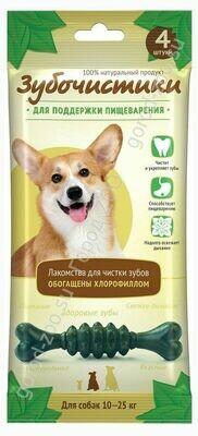 Зубочистики с мятой д/сред. собак
