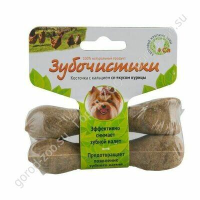 Зубочистики д/соб.мел.пор.курица 2*18г