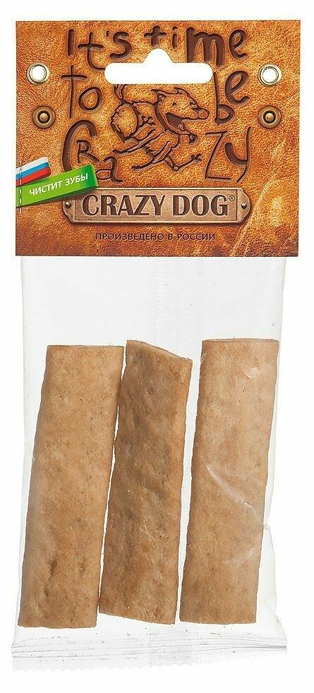 Титбит Crazy Dog Жевательные полоски с кроликом (д/мелких собак)