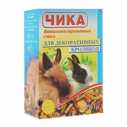 ЧИКА 400г д/кроликов