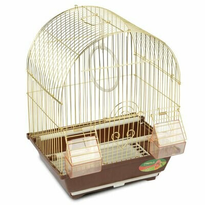 Триол Клетка д/птиц №2100А(цвет) 30*23*39 TRIOL
