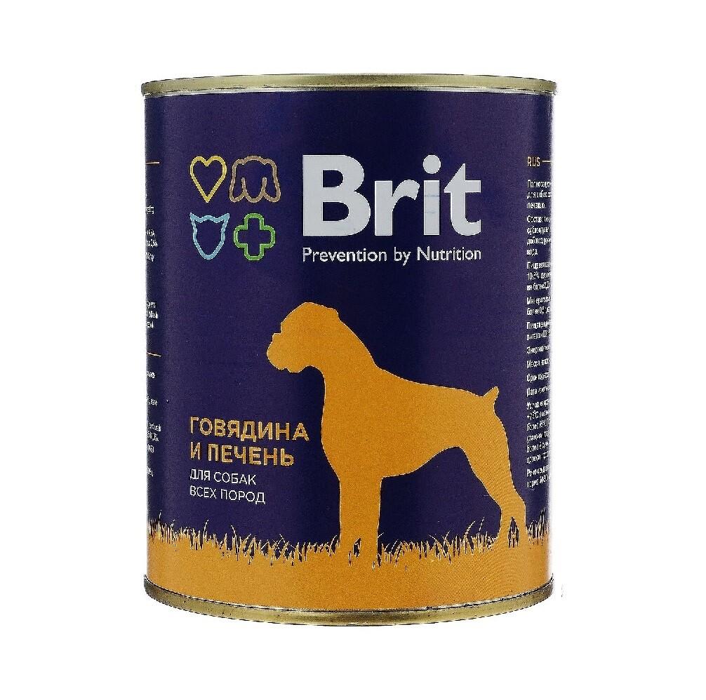 Брит премиум BRIT PREMIUM конс.д/соб 850г говядина и печень