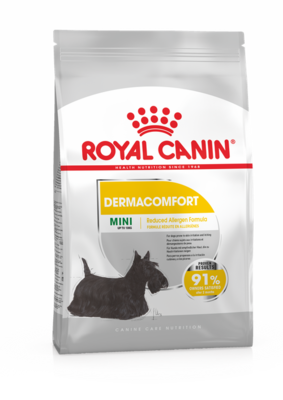 Роял Канин Royal CANIN 1,0кг Мини дерма комфорт