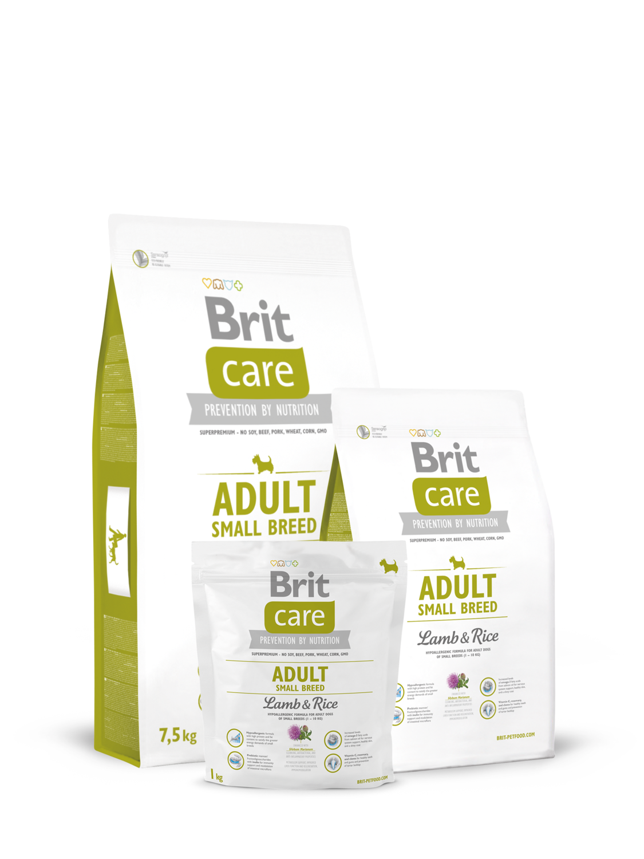 Брит кеа BRIT Care д/собак мелких пород ягненок/рис 1кг