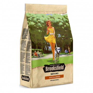 Бруксфилд Brooksfield Dog All Breeds Говядина/рис д/соб 800гр
