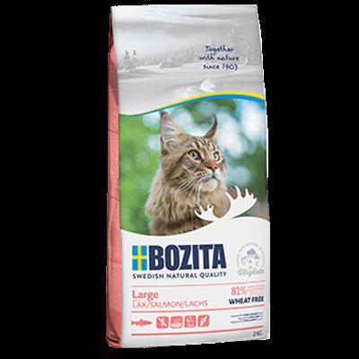 Бозита BOZITA сух д/кош. крупных пород Large WF лосось, без пшеницы 400гр