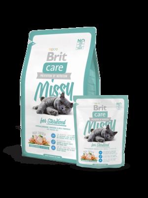 Брит кеа BRIT Care Cat Missy for Sterilised д/каст.кот. 400гр