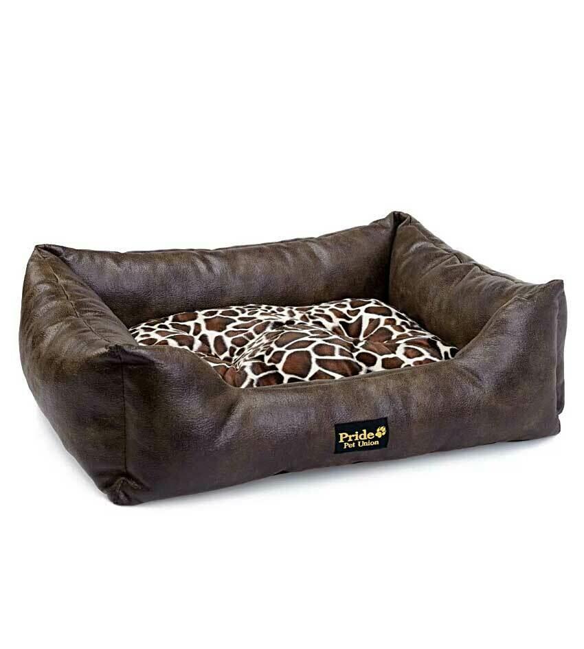 Лежак для кошек, собак ПРЕЗИДЕНТ прямоугольный 60*50*18 см