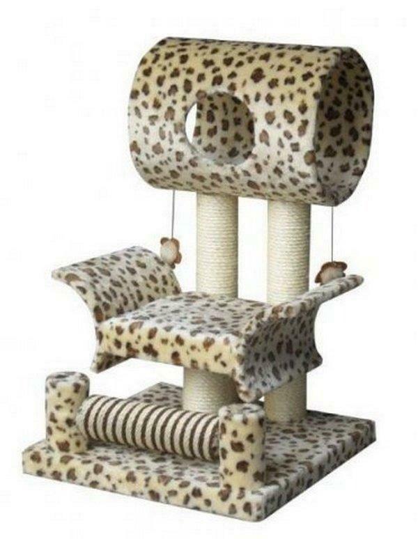 Площадка игровая д/кошек LIMBO жираф 45*45*79см