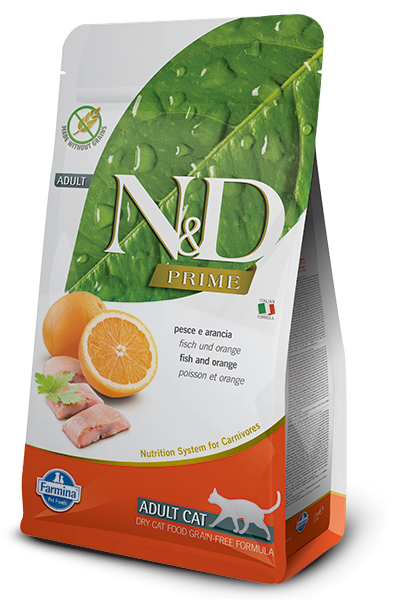 НД Фармина N&D Cat GF рыба с апельсином