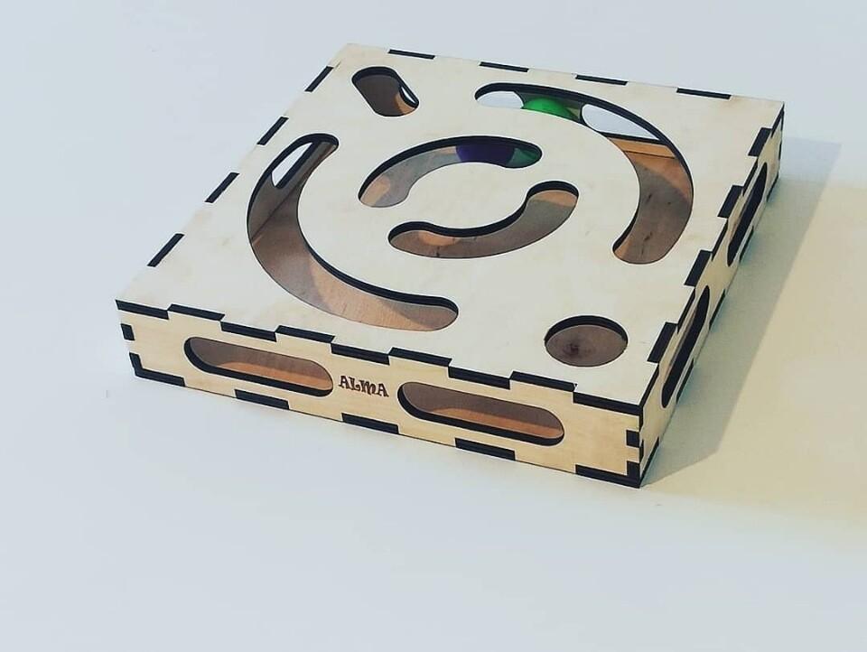 Игровая коробка АЛМА