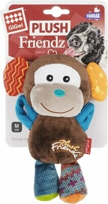 GiGwi обезьянка с пищалкой