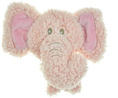 AROMADOG Игрушка для собак BIG HEAD Слон 12 см розовый