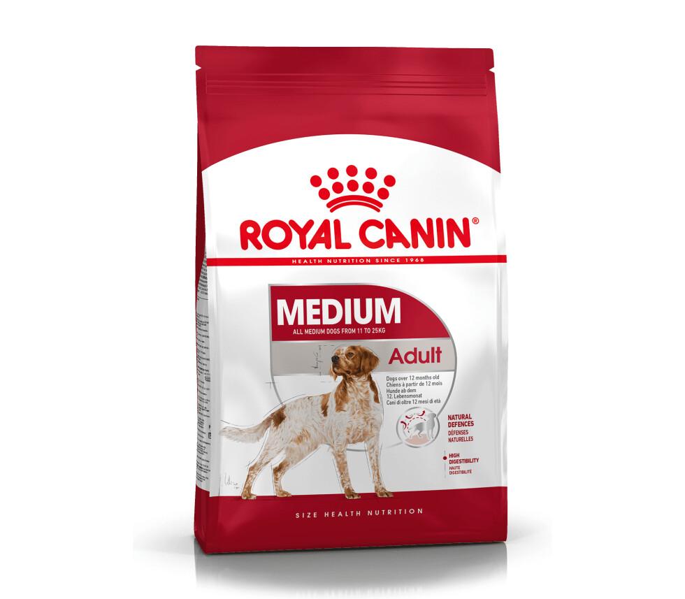 Роял Канин Сухой корм для собак средних пород Medium Adult
