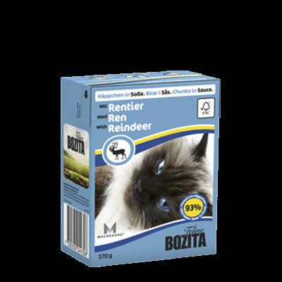 Бозита Tetra Pac д/кош конс 370г Кусочки в соусе с мясом оленя для кошек