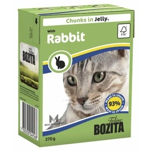 Бозита BOZITA Tetra Pac д/кош конс 370г  кусочки с кроликом в желе