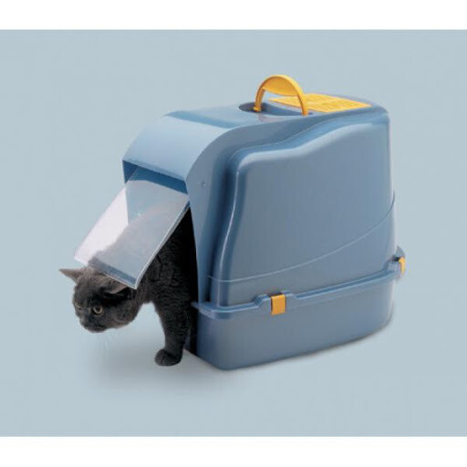 Туалет-БИО д/кош домик с дверцей Cat-o-net 52х39х42 (SAVIC)