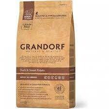Грандорф GRANDORF DOG Duck&Potato ALL BREEDS (утка с картофелем для собак всех пород) 1 кг.