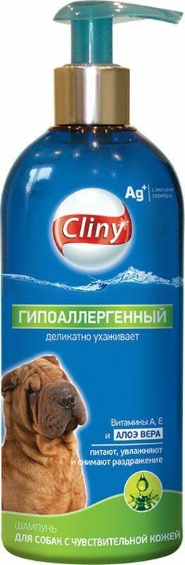 Клини Cliny Шампунь  д/собак гипоаллергенный  300мл