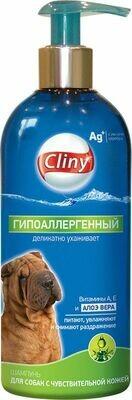 Cliny Шампунь  д/собак гипоаллергенный  300мл