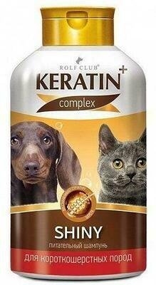 KERATIN+ Intensive шампунь д/жесткошерст. кош. и соб. 400мл