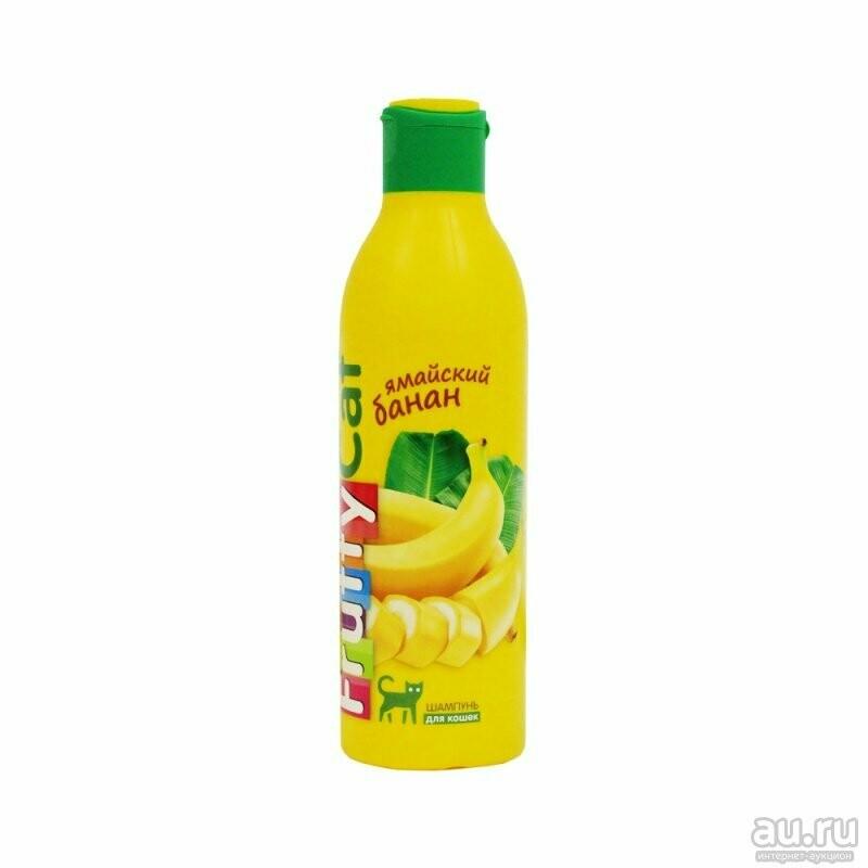 Шампунь FruttyCat д/кошек Банан  250 мл
