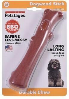 Petstages игрушка для собак Mesquite Dogwood с ароматом барбекю 18 см средняя